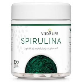 VITO LIFE - Spirulina 100 cps