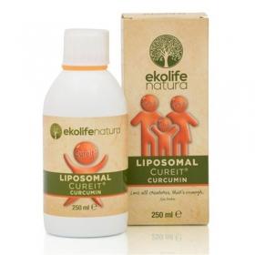 EkoLife Nature Liposomal CureIt Curcumin 250ml (Lipozomální CureIt Kurkumin)
