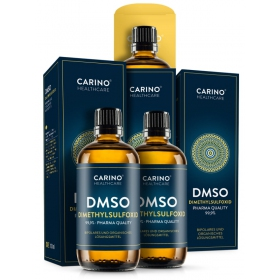 2+1 Carino Healthcare DMSO dimethylsulfoxid 99,9% 300ml