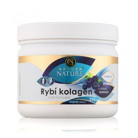 Golden Nature Rybí kolagen+Vitamin C - Borůvka 250g