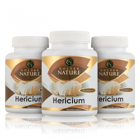 2+1 Golden Nature Hericium 30% polysacharidů 300 cps.