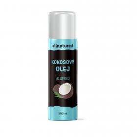Allnature Kokosový olej ve spreji 300 ml