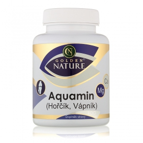 Golden Nature Aquamin (Vápník+Hořčík) 100 cps.
