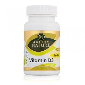 Golden Nature Vitamin D3 2000 I.U. SOFTGELS 100 cps.